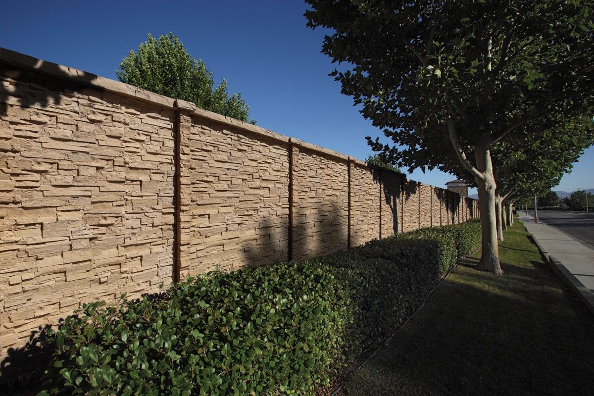 ChiselStone Precast Fence Tx