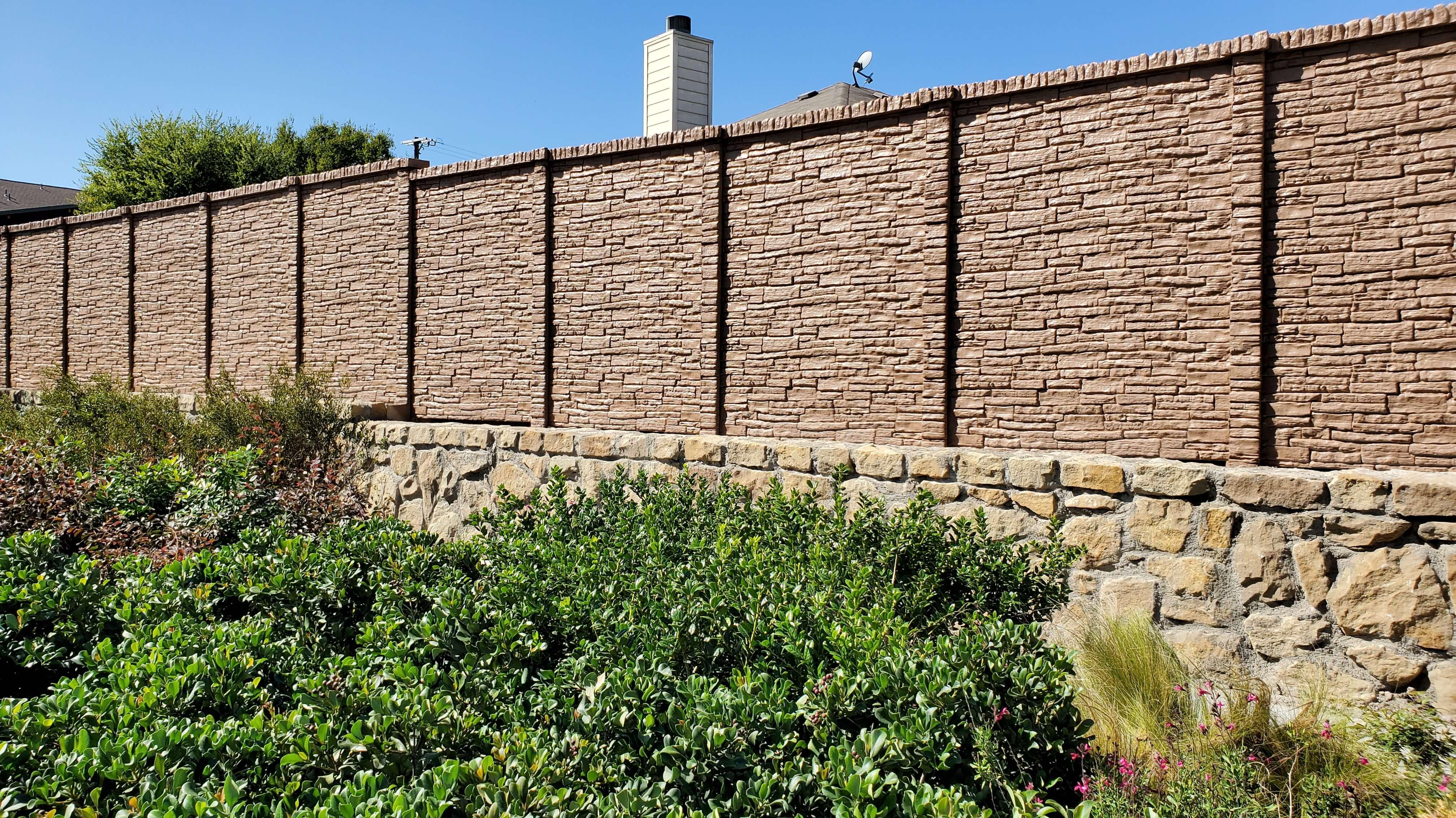Precast Concrete Fence Forney Texas (1)