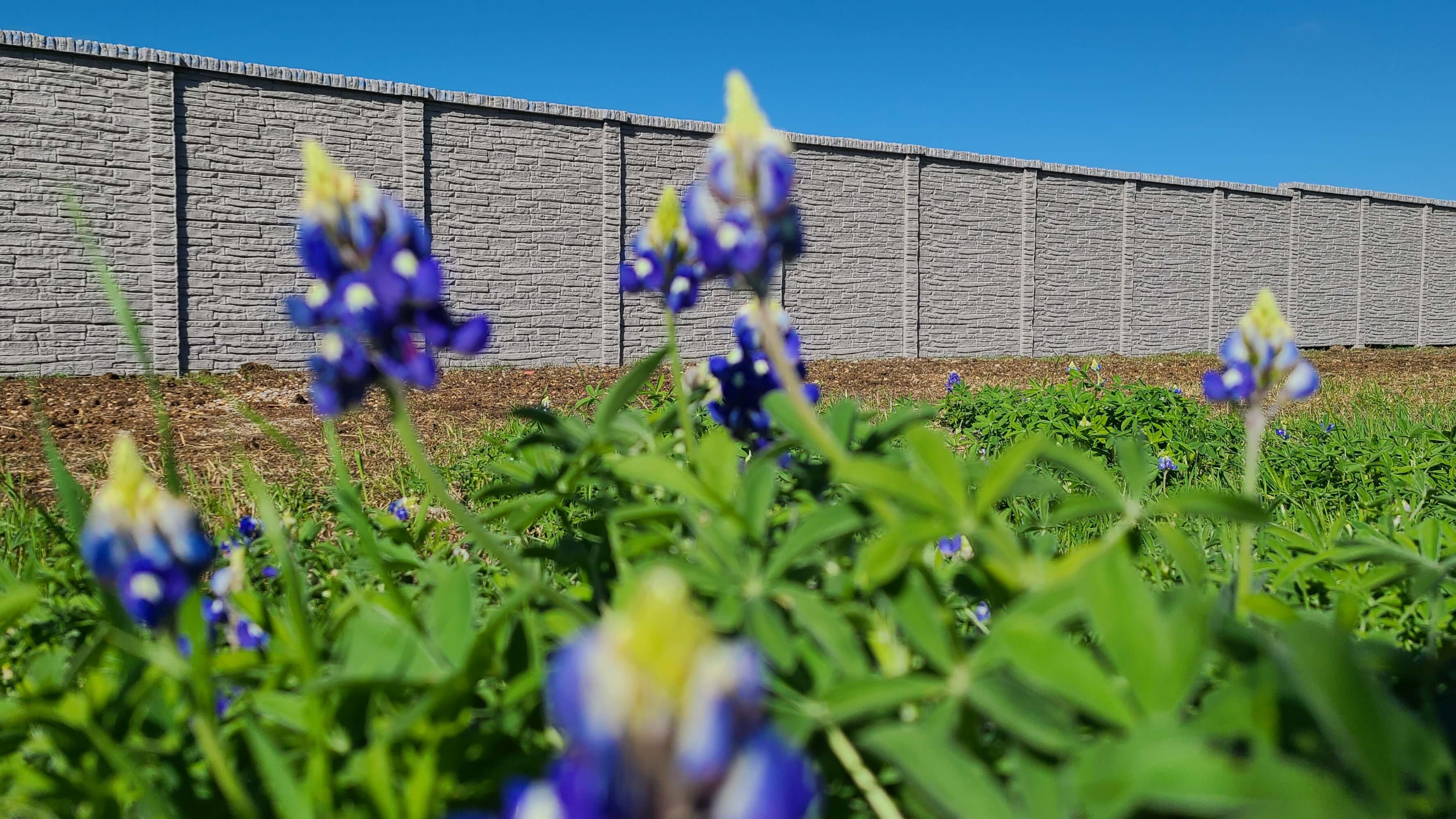 precast concrete fence stone texas-1