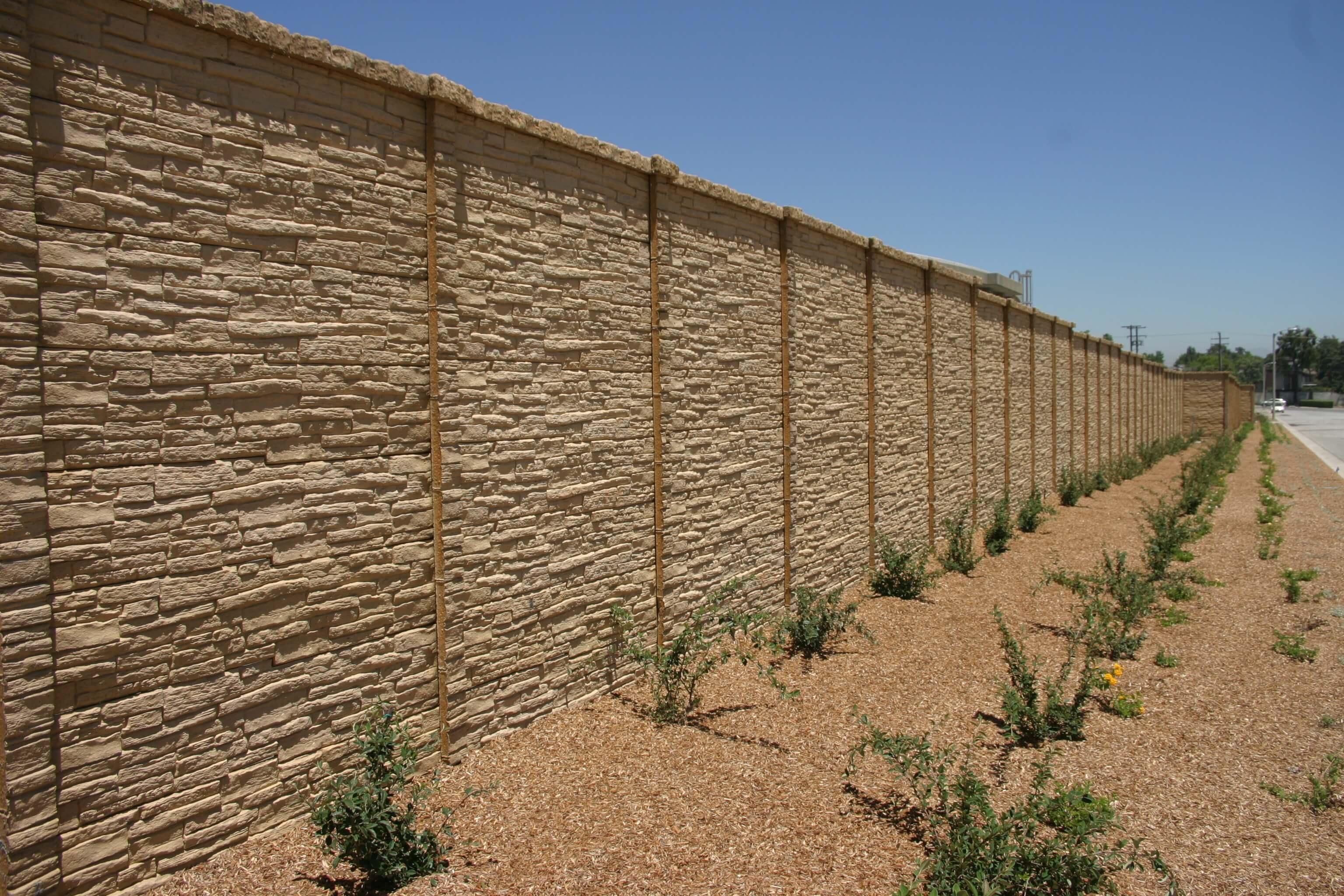 Preacst Concrete Fence StackedStone