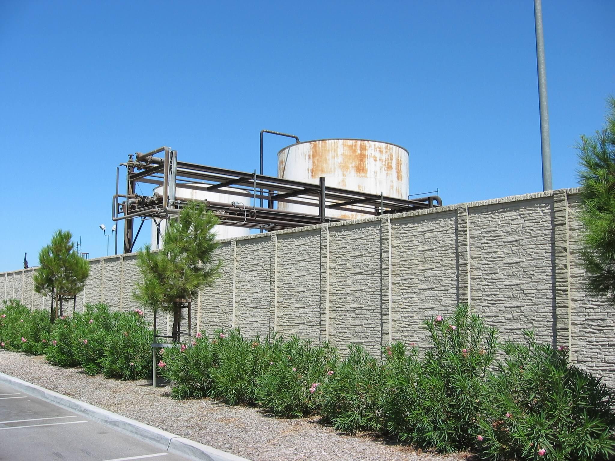 StackedStone Precast Fence TX