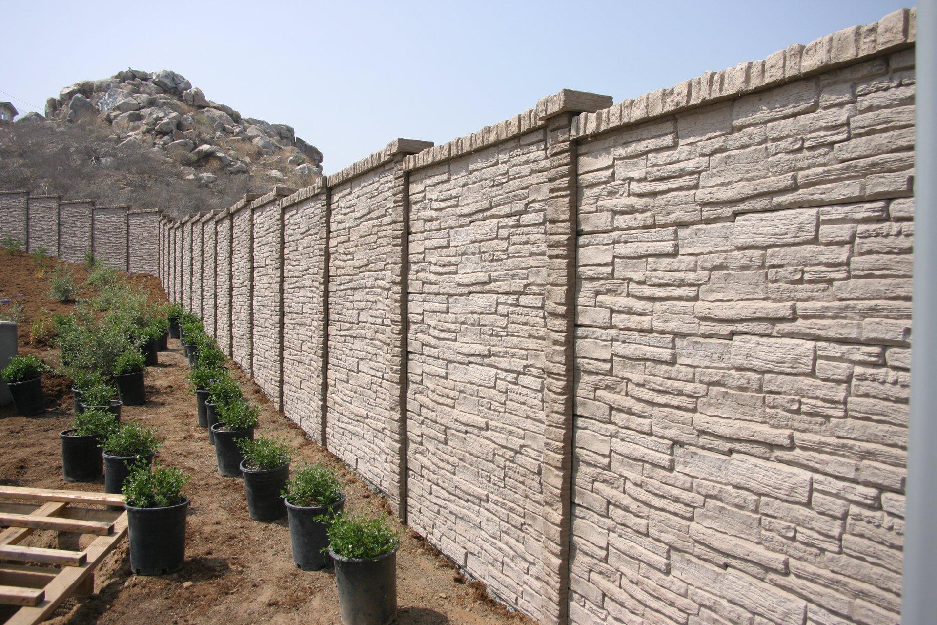 StackedStone Precast Fence Fort Worth, TX