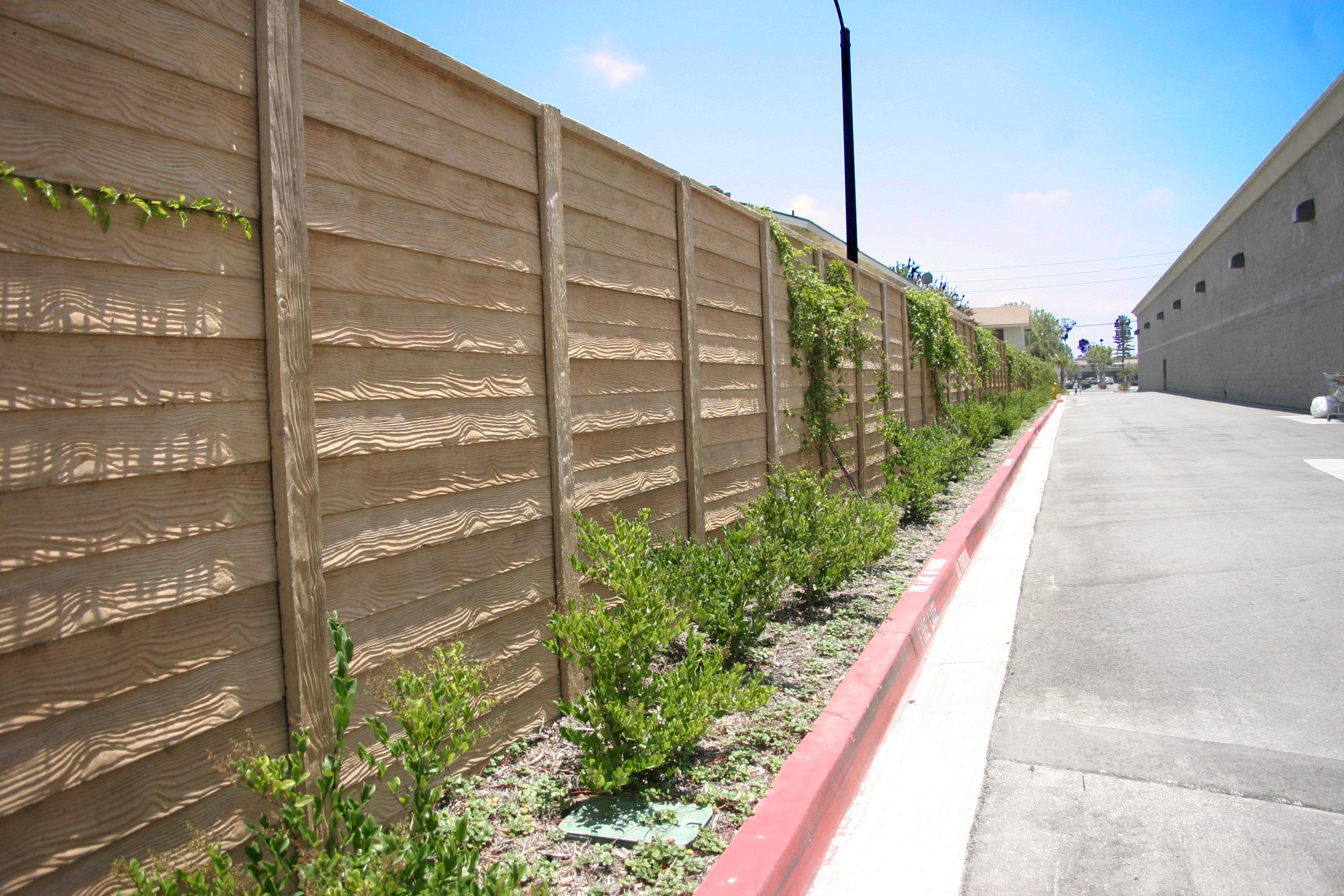 Precast Concrete Fence DFW