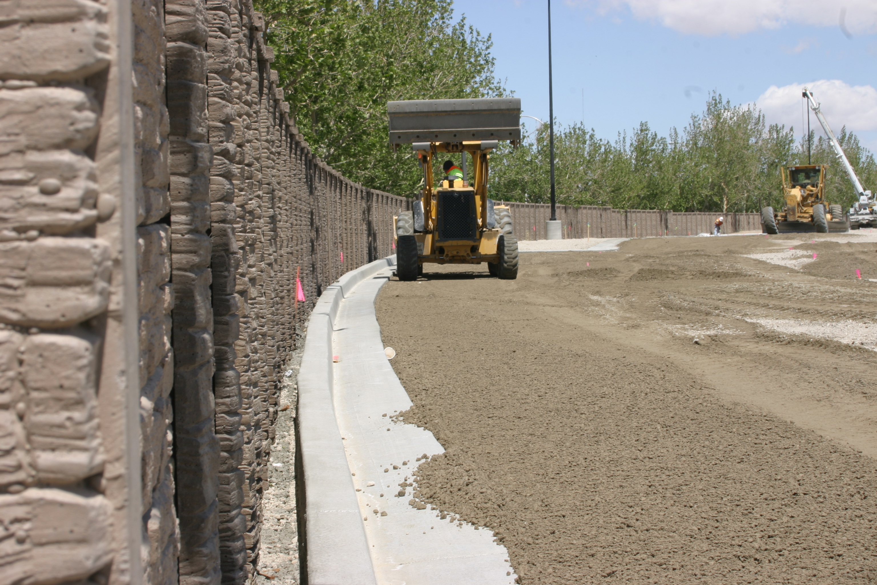 Concrete Fence Installation