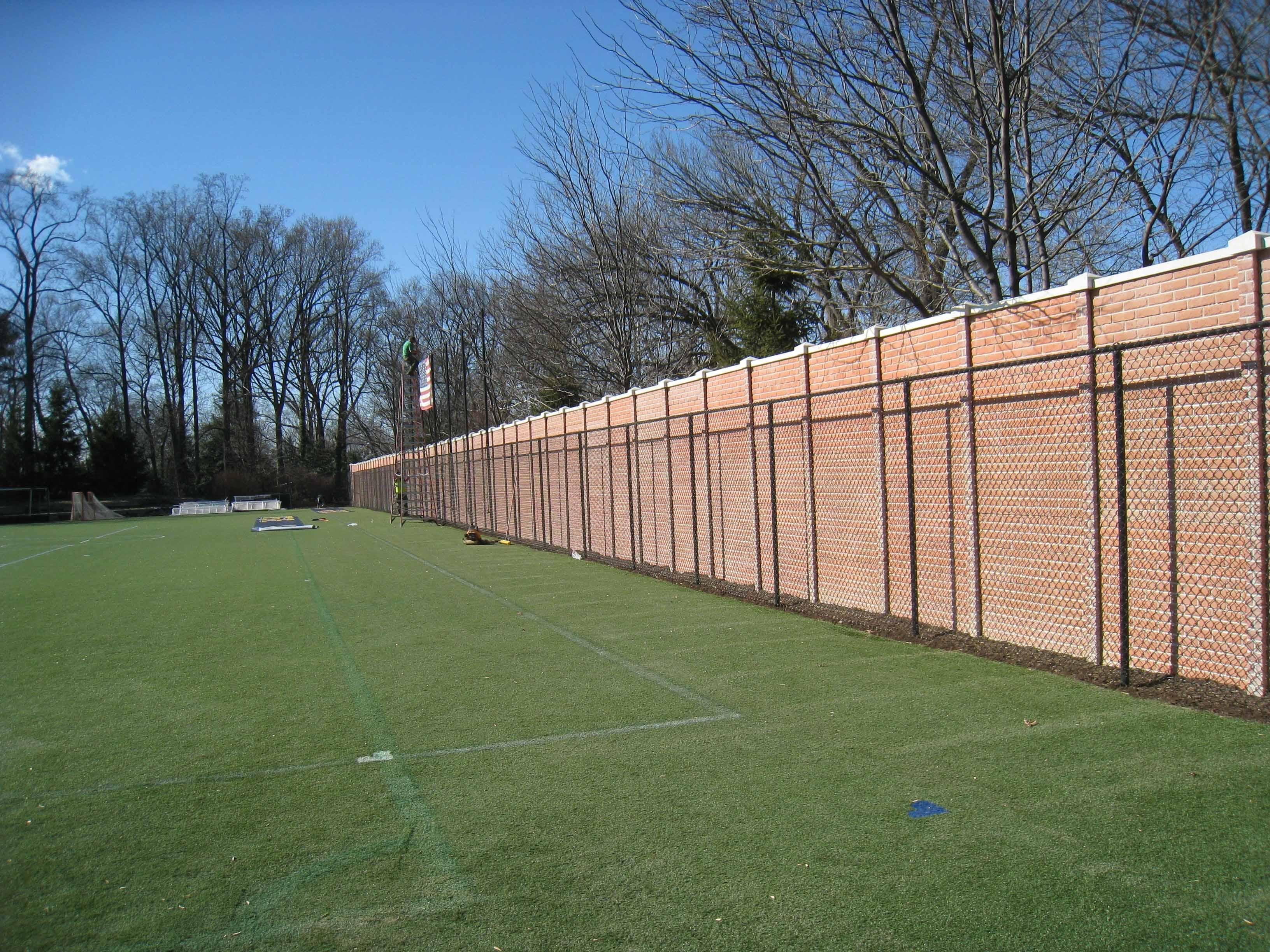 commercial concrete fence