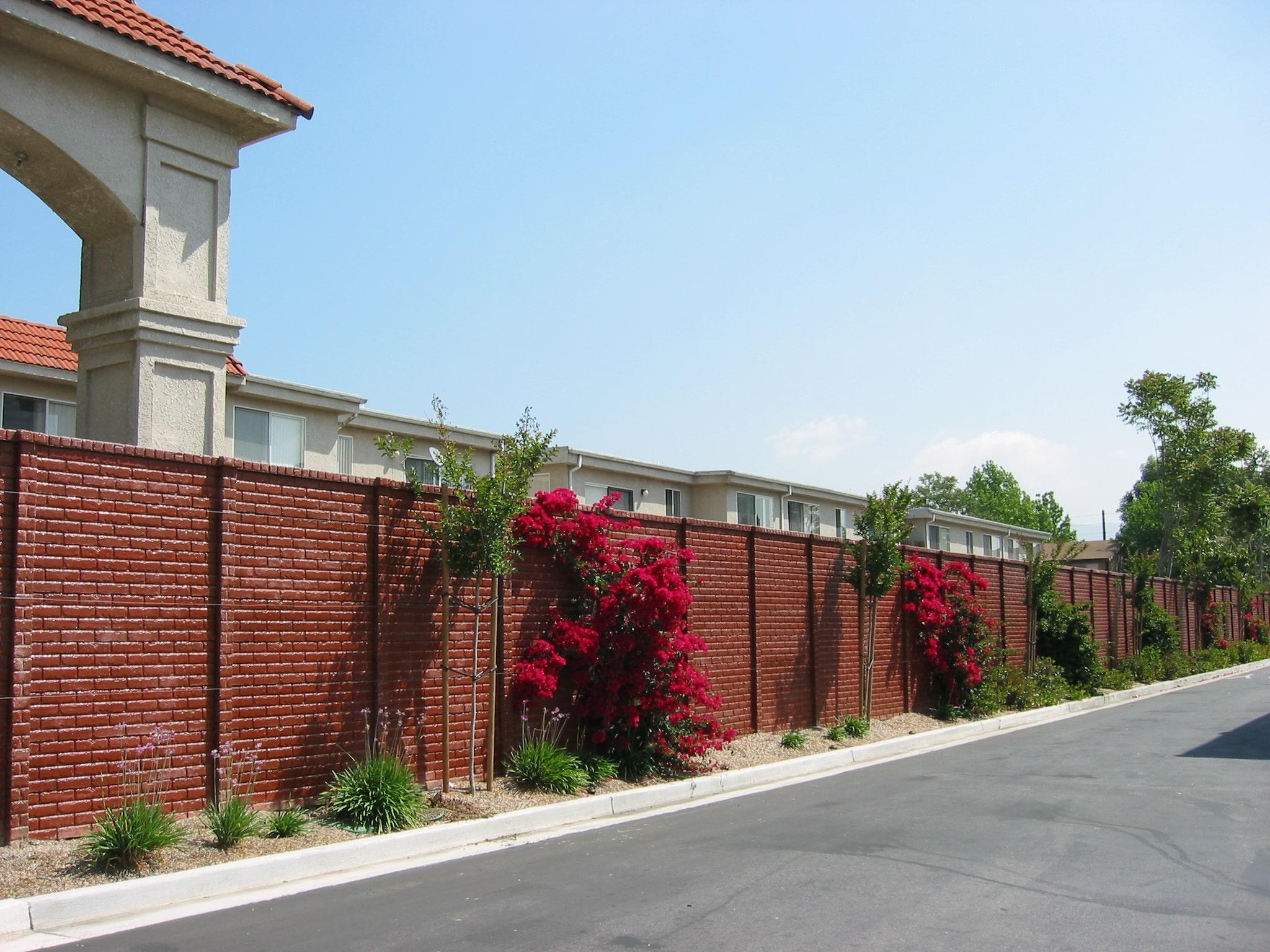 OldBrick Concrete Fence Dallas