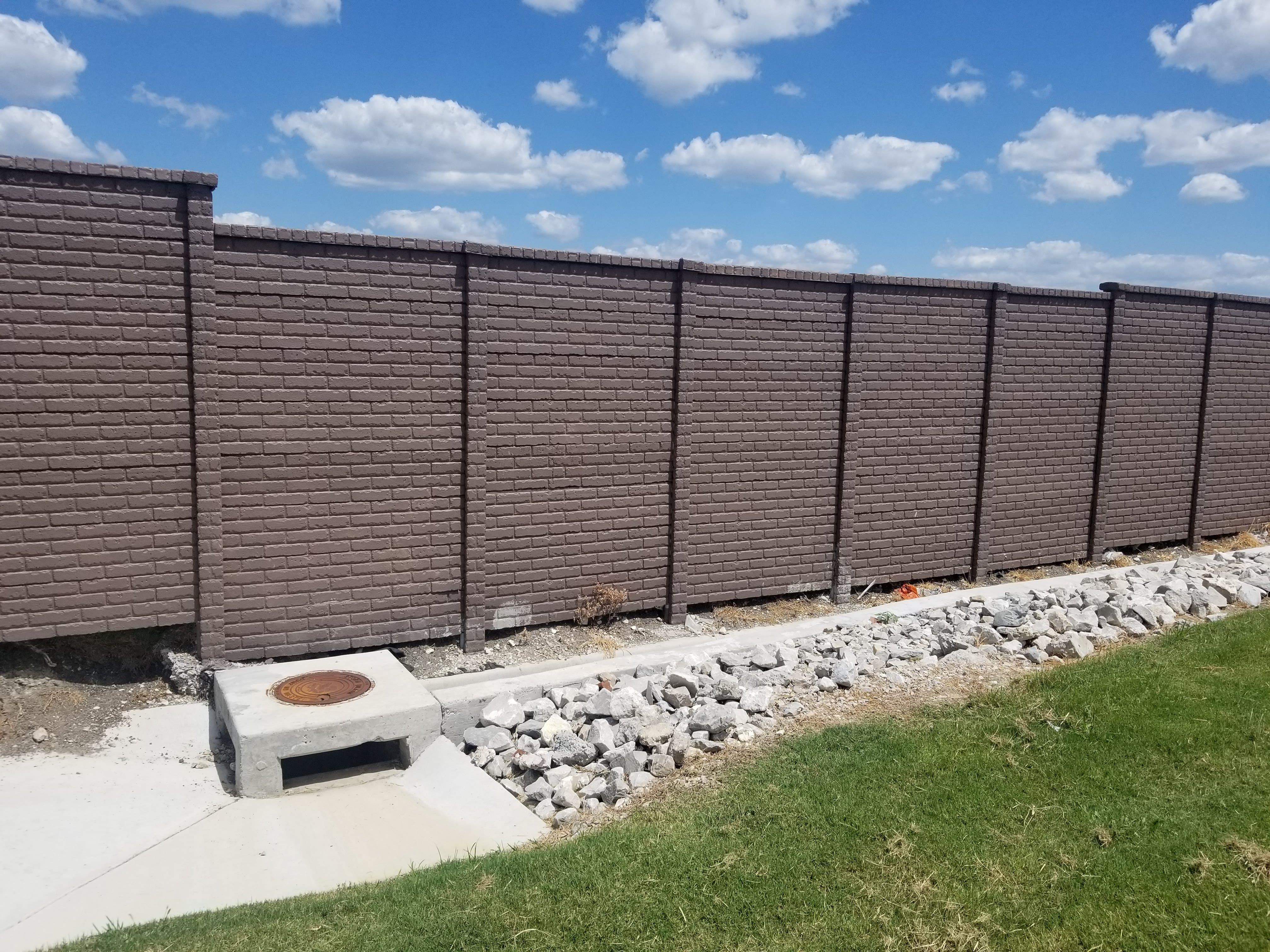 OldBrick Precast Fence Allen, TX
