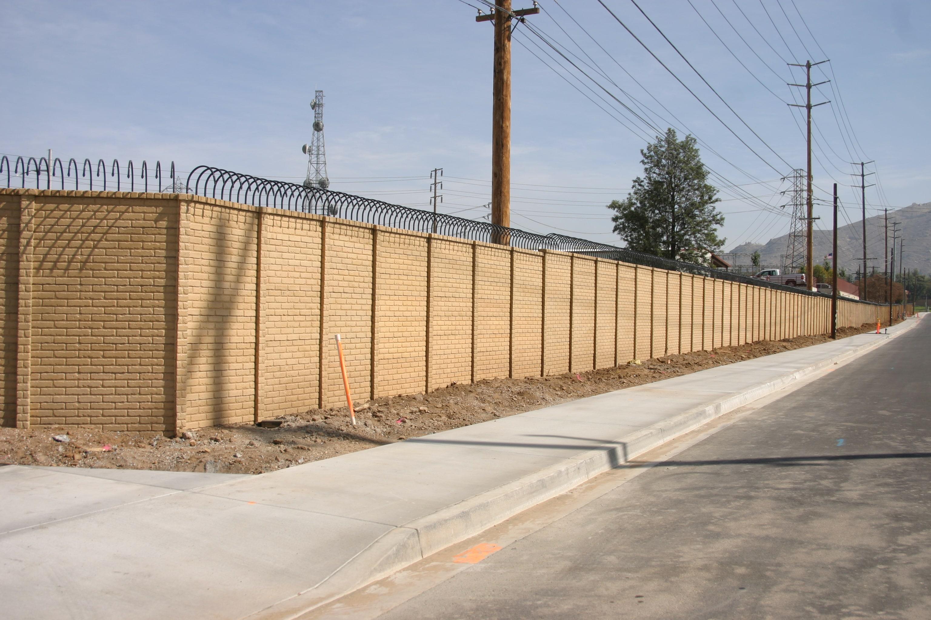 Precast Concrete Screening Wall OldBrick