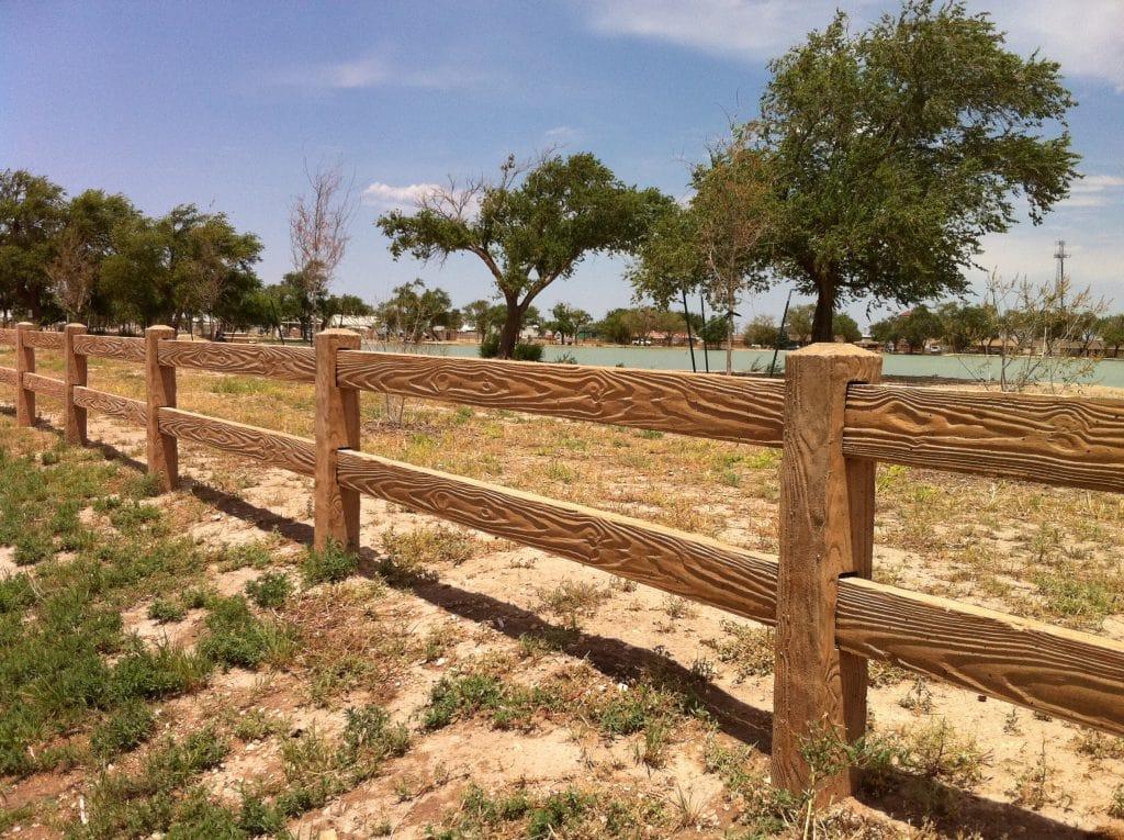 RanchRail concrete fence
