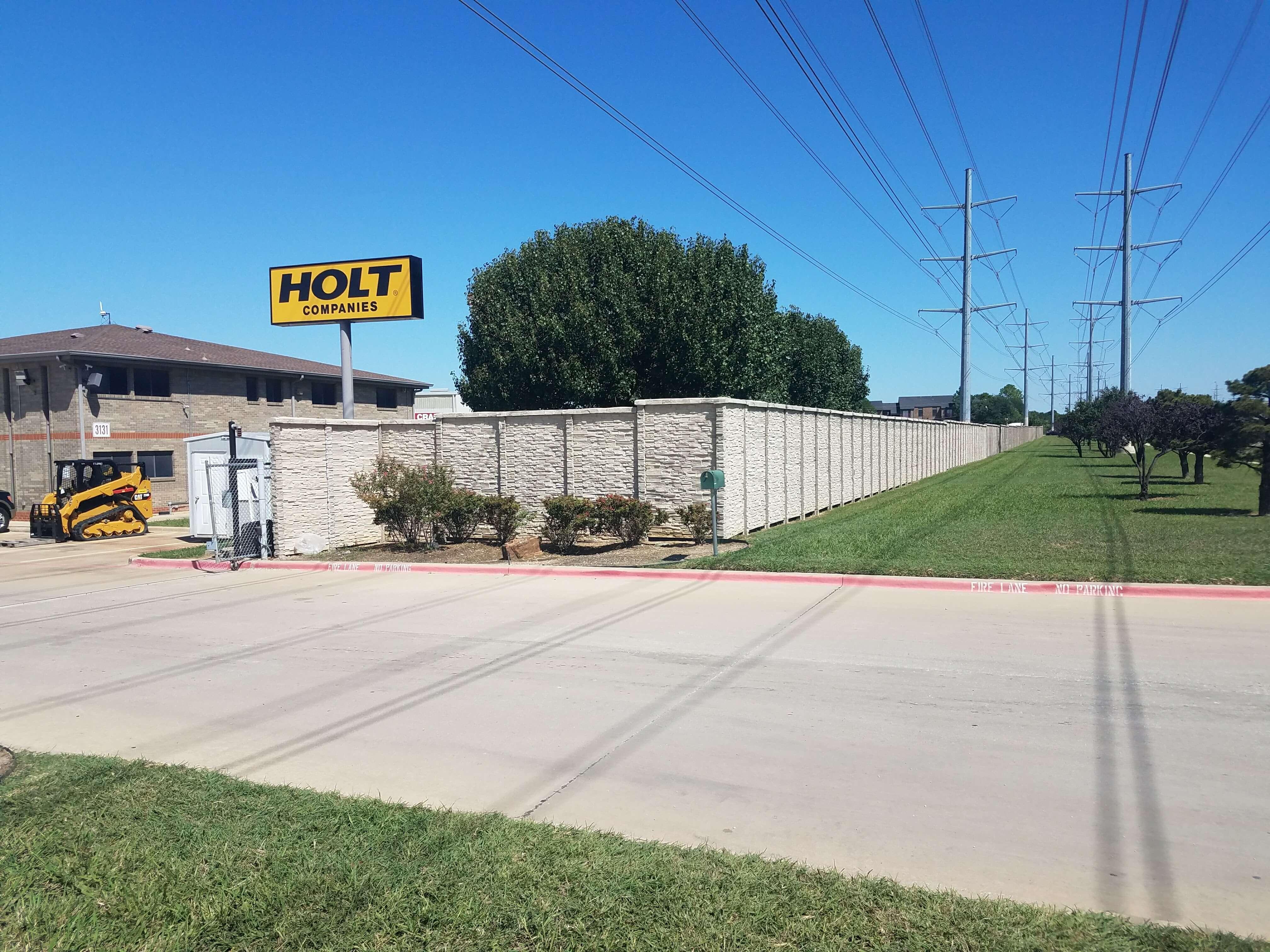 precast concrete fence dallas texas