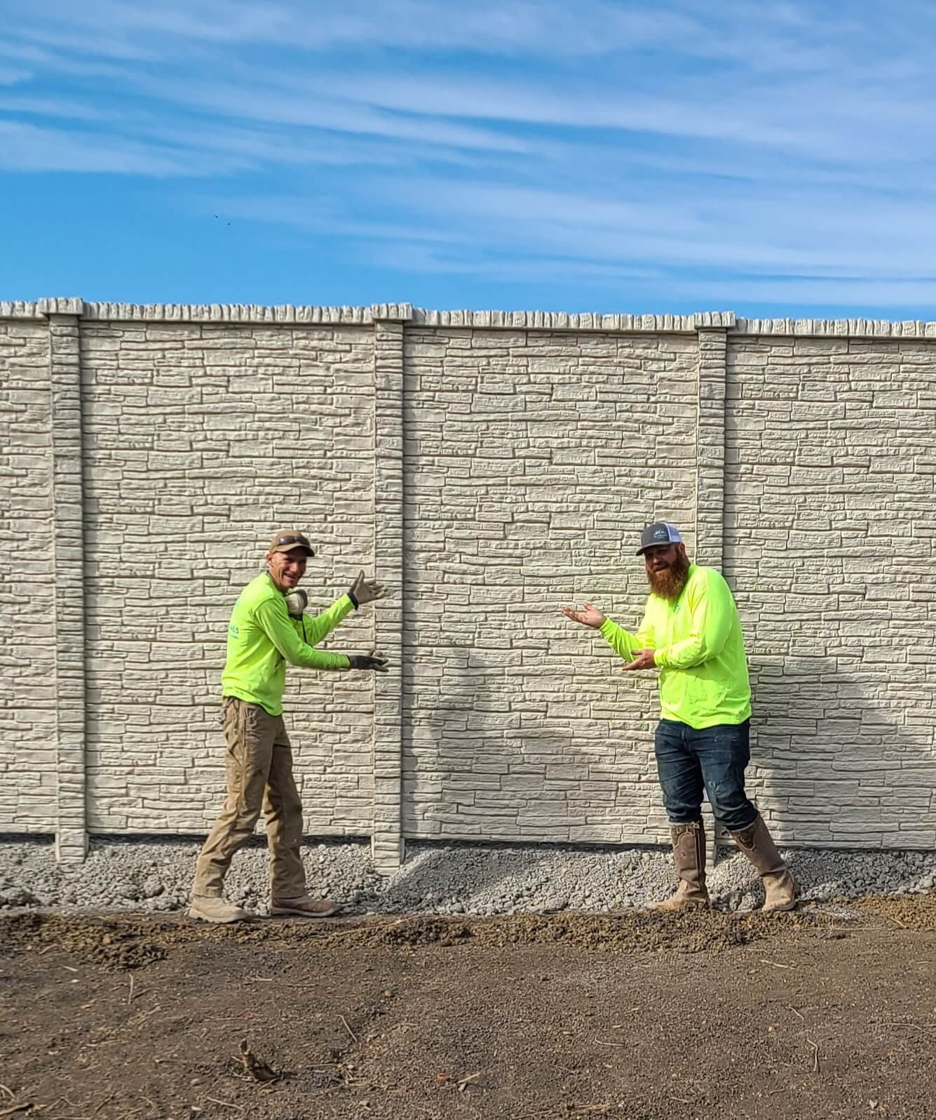 concrete fence contrator