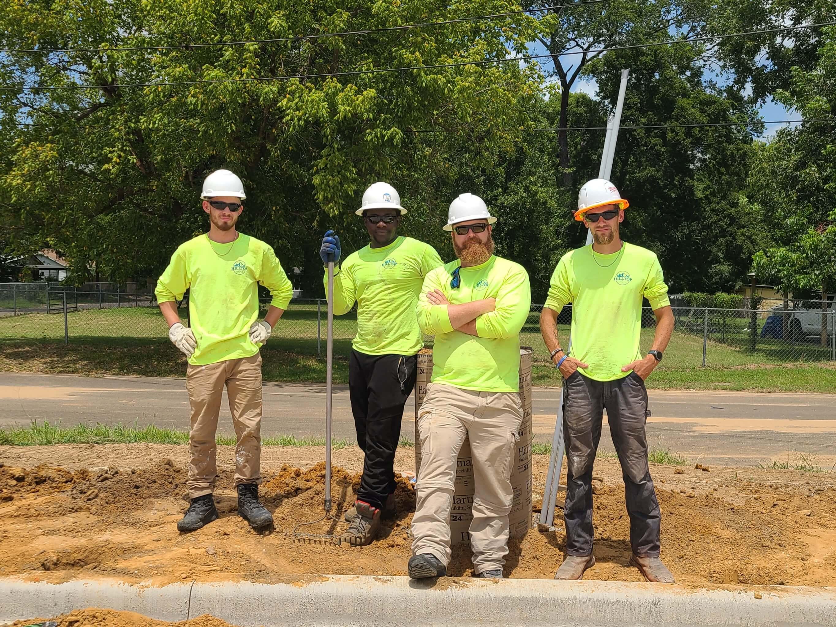 texast concrete fence contractor