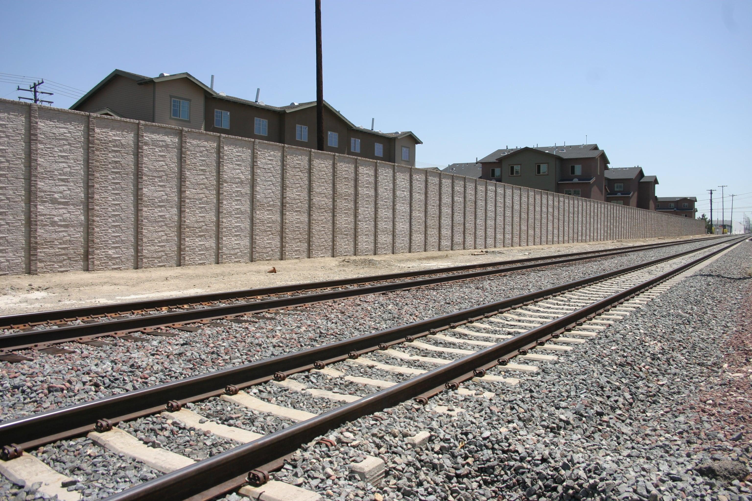 concrete fence sound walls