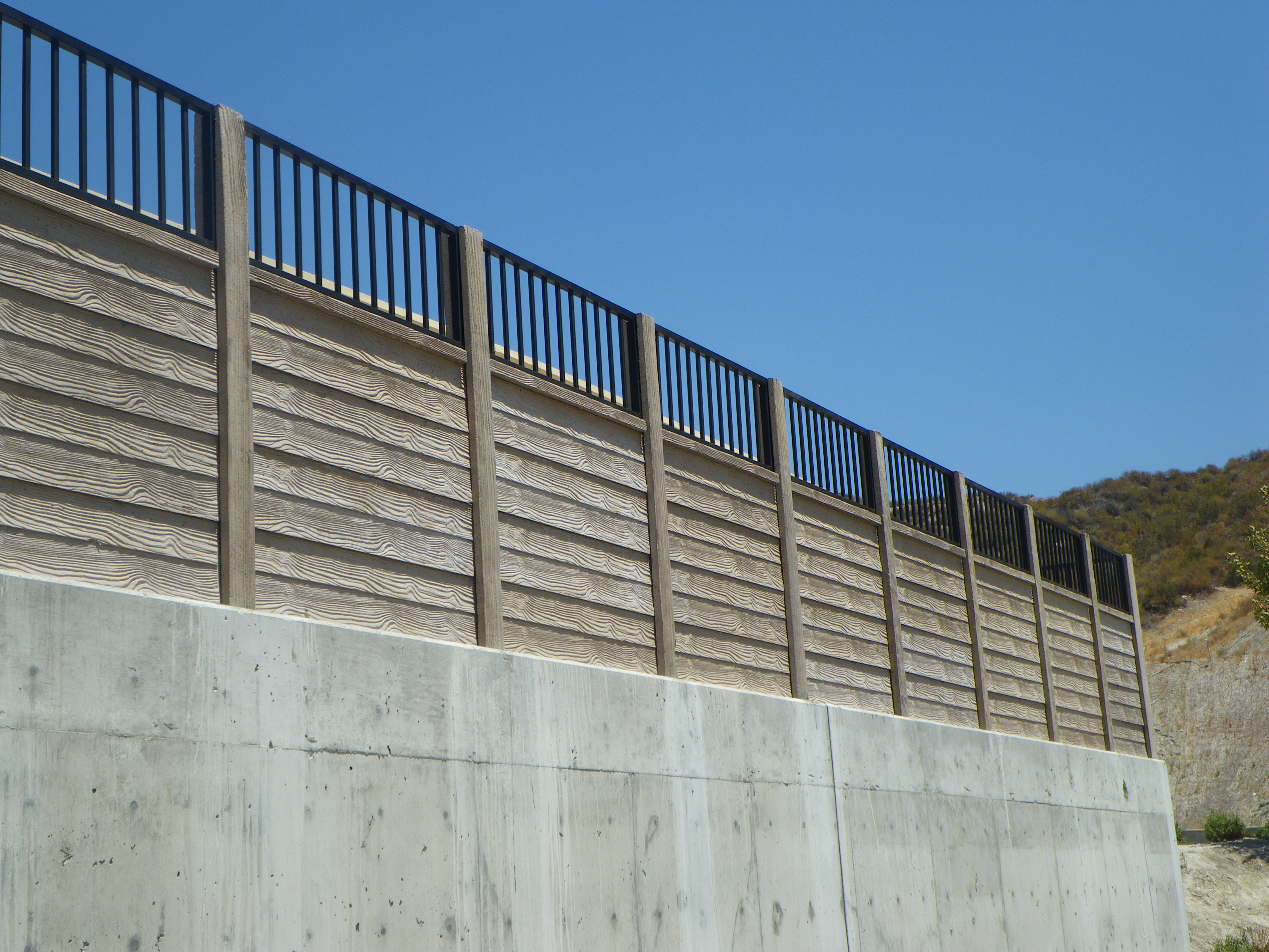 Concrete Fence Contractor Texas